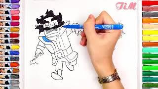 Dibujando Al Mago Electrico From Youtube The Fastest Of