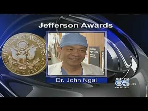 Dr. John Ngai - Jefferson Awards Winner - 2011