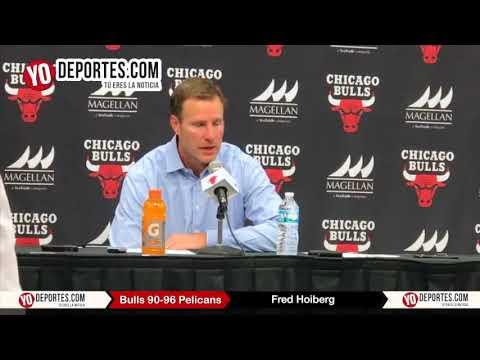Fred Hoiberg Chicago Bulls 90-96 New Orleans Pelicans