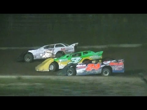 Crate Late Model Feature | Genesee Speedway | 9-3-16