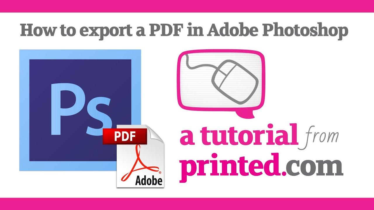 Pdf material adobe photoshop