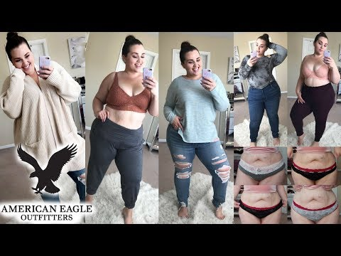 WILL IT FIT?! American Eagle & Aerie |Try On Haul|