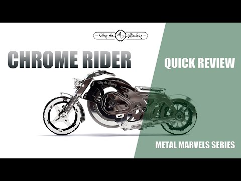 Time for Machine. Metal marvels. Quick review of Chrome Rider