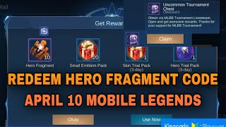 Mobile Legend Redeem Code Rare Fragment - Michael Redmon