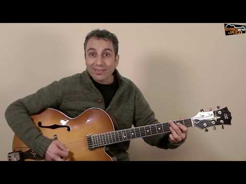 Swing 48 - Minor Blues and improvisation with arpeggios