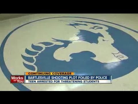 Bartlesville shooting, bomb plotting suspect arrested