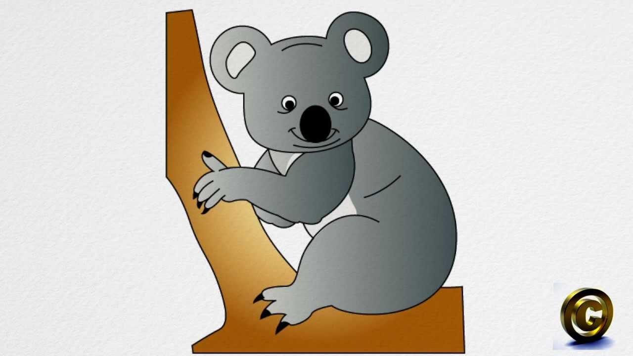 How To Draw A Koala Bear Step By Step