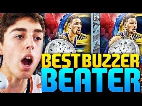 DIAMOND KLAY THOMPSON CRAZY BUZZER BEATER! 21 THREE POINTERS! NBA 2K16