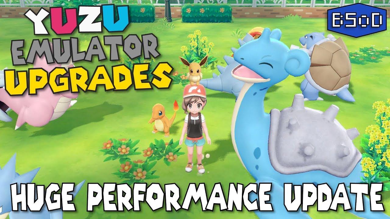 3X Performance Boost in Pokemon Let's Go - Yuzu Game