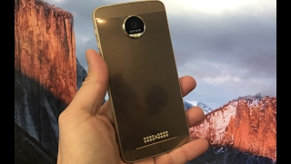Moto Z Droid Force  review después de 1 mes 1:2 de uso