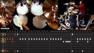 Sad But True - Metallica (aula de bateria)