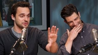 'New Girl' Stars Max Greenfield & Jake Johnson PART 2 | Interview | On Air with Ryan Seacrest