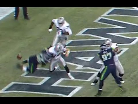 Raiders Matt McGloin Sacked Seahawks Get Fumble, TD #OAKvsSEA