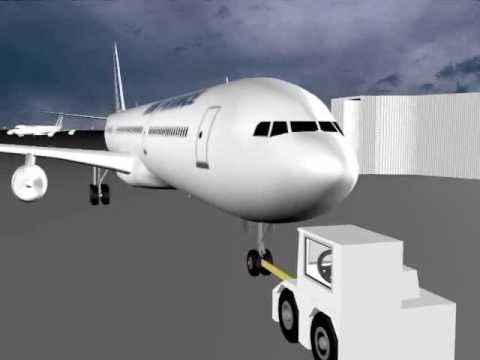 3D Animation Airplane Using 3Ds Studio Max