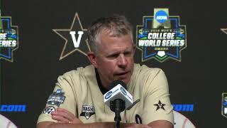 2019 College World Series: Championship Game 3 Press Conference   Michigan vs. Vanderbilt thumbnail