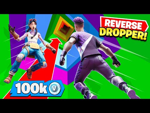 REVERSE DROPPER for 100,000 V-Bucks with Preston! (Fortnite)