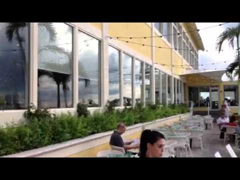 Rusty Pelican, Key Biscayne - view toward downtown Miami