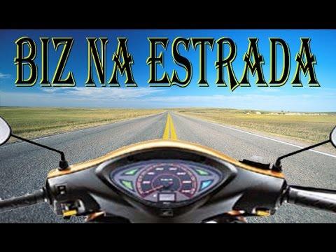 Estrada com uma Biz 100cc KS - São Paulo à Embu das Artes