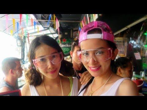 Songkran Water Festival 2016 Bangkok Pattaya, Thailand