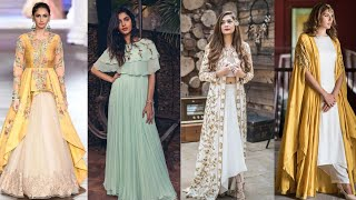 Latest and unique Indo Western dress designs || Modern partywear dresses for girls