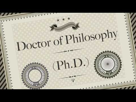 How to get phd degree