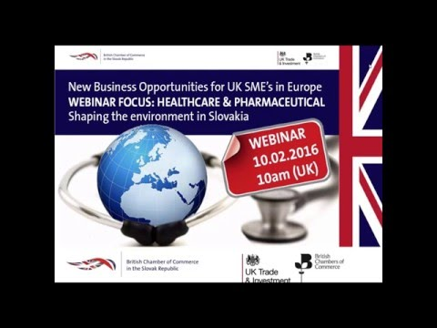 New Business Opportunities in Healthcare & Pharma in Central Eastern Europe 10th Feb 2016