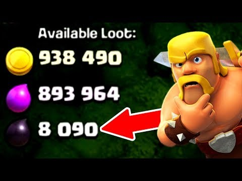 IS THIS THE BIGGEST DARK ELIXIR RAID EVER!? - Clash Of Clans