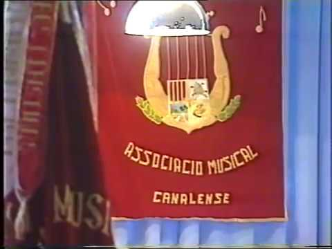 IX Festival de bandes de La Costera. 1991. Organitzat per l'Associació Musical Canalense.