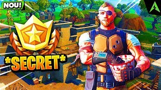 "* NEW * SEASON 4-UNLOCK THE BATTLE STAR ""SECRET"" HIDDEN BY FORTNITE!"