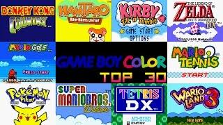 Game Boy Color Top 30 Games