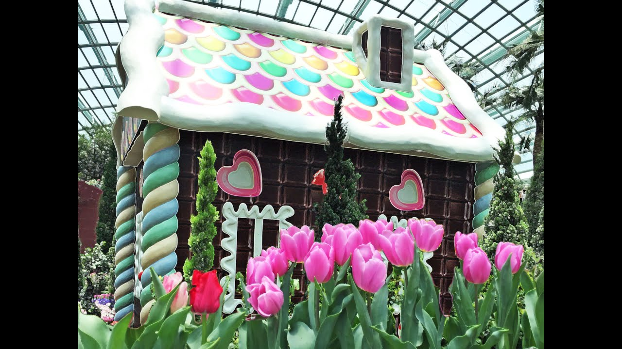 Garden By The Bay Flower Festival tulipmania at gardensthe bay (mar-may 2015) - youtube