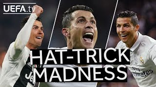 ALL CRISTIANO RONALDO #UCL HAT-TRICKS!!