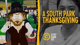 Celebrating Thanksgiving, South Park Style