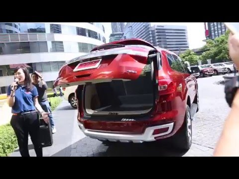 Smart Drive with All-New Ford Everest
