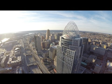 Downtown Cincinnati in 4K