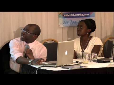 4. Caribbean Commerce Magazine launch Kingston, Jamaica - Anthony Phills, Founder Pt1