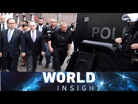 World Insight— France church attack; US election 2016; Interview with Michael Sandel 07/27/2016