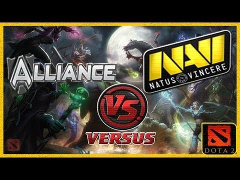 видео: Лучшая Игра Чемпионата dota 2 2013 na`vi vs. alliance #5 (Решающий Поединок) international 2013 #ti3