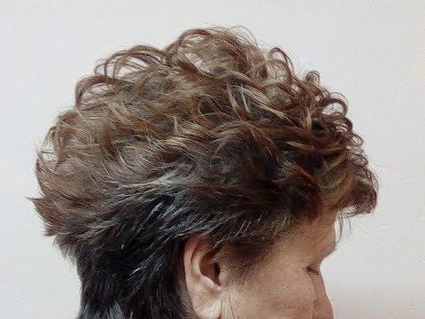 Укладка на короткие волосы(два варианта).https://youtu.be/xCNxwLMkQTA