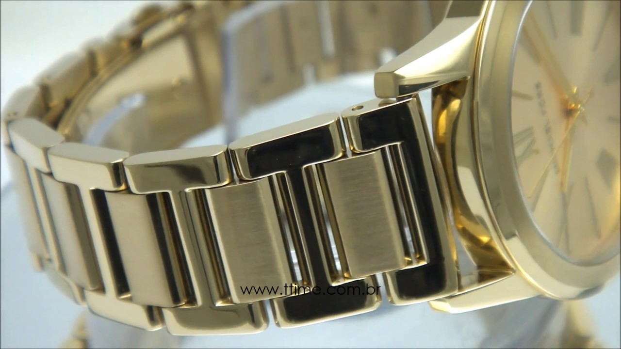 a176bd53f9384 Relógio Michael Kors Hartman MK3490 4DN - YouTube