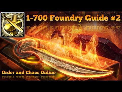 Foundry Guide! #2 | Guía De Herrería! #2 | Order And Chaos Online 2018