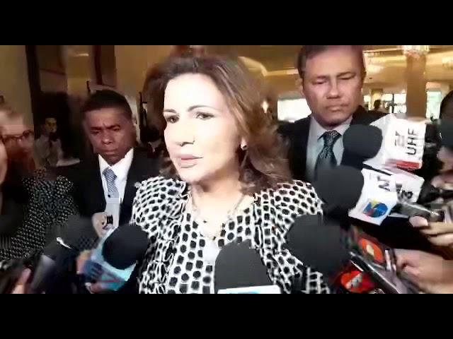 Margarita Cedeño respalda uso voto automatizado en próximas elecciones