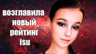 Фигуристка Анна Щербакова возглавила Новый рейтинг ISU Фигурное катание