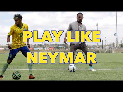 HOW TO PLAY LIKE NEYMAR JR.  STEP BY STEP  SOCCER SKILLS