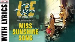 Telugutimes.net Miss Sunshine Song With Lyrics