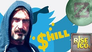 McAfee Shill - ZCoin Moon??? - Rise of the ICOs