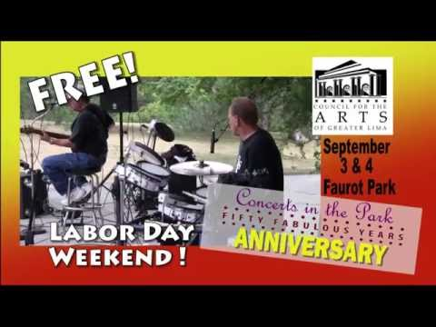 Council for the Arts of Lima -  50th Anniversary Concerts in the Park
