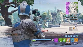 MOM GETS HER 1ST SNIPER KILL IN FORTNITE WHILE DOING SON'S DAILY CHALLENGE🙊🙉