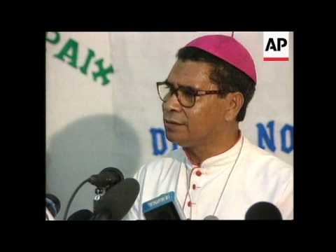 East Timor - Nobel Prize-winning bishop Belo
