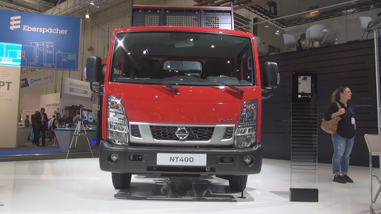 nissan nt400 3 5t l2 6mt tipper truck 2019 exterior and interior [ 1280 x 720 Pixel ]